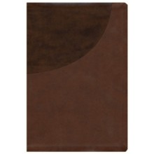 NIV SUPER GIANT PRINT REFERENCE BIBLE LEATHERSOFT BROWN