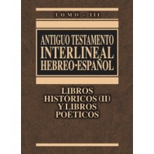 AT INTERLINEAL HEBREO ESP VOL 3 L HISTÓRICOS 2 POÉTICOS