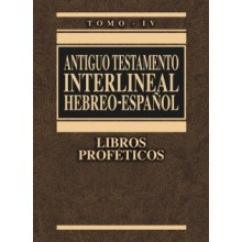 AT INTERLINEAL HEBREO ESP VOL 4 L PROFÉTICOS