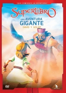 DVD SUPERLIBRO AVENTURA GIGANTE DAVID Y GOLIAT