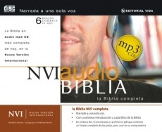 BIBLIA NVI MP3 6 CDS