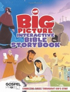 BIG PICTURE INTERACTIVE BIBLE STORY BOOK